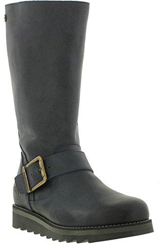 Mid Navy amp; Calf Hyde Leather Womens Mid Oak Boots Coast dXzFqvw