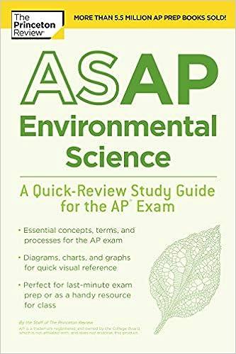 Amazon com: ASAP Environmental Science: A Quick-Review Study Guide