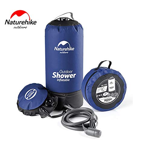 JICHUIO Naturehike Outdoor Shower Bag Portable Water Storage Bag Litre for Camping
