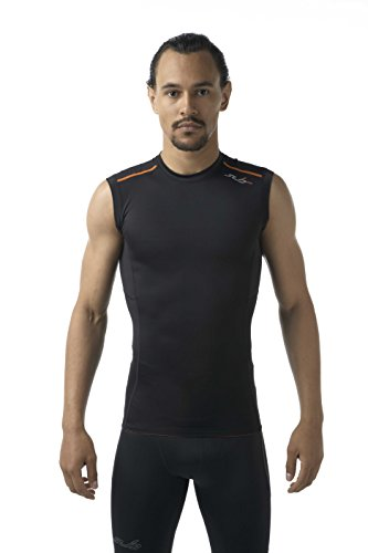 Sub Sports Mens Grduated Compression Sleeveless Tank Top Running Recovery -L