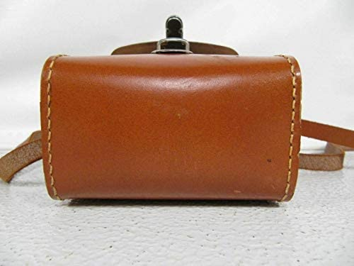 Binoculars & Telescopes Craftsman Cases Stitched Leather Vintage Tuck Tite Carry Case W Strap Belt Slot
