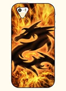 OOFIT Phone Case design with Dragon in Fire for Apple iPhone 4 4s 4g