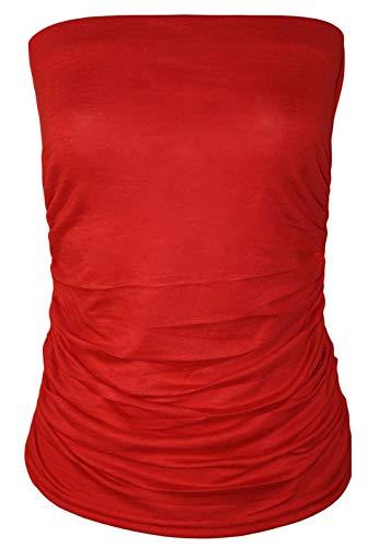 sin Talla mangas Top Solid rosa 21fashion mujer para Tank qatAxzz