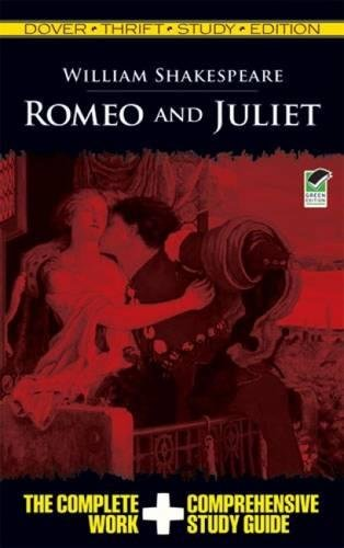 Romeo and Juliet (Dover Thrift Study Edition) (Juliet Study Guide)