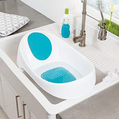 Boon Soak 3-Stage Bathtub, Blue