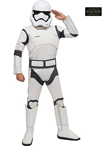 Star Wars VII: The Force Awakens Deluxe Child's Stormtrooper Costume and Mask