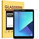 SPARIN Galaxy Tab S3 / Galaxy Tab S2 9.7 Screen Protector - S Pen Compatible/Tempered Glass / 2.5D Round Edge/Scratch Resistant/Easy Install for Samsung Galaxy Tab S3 / Galaxy Tab S2 9.7 Inch