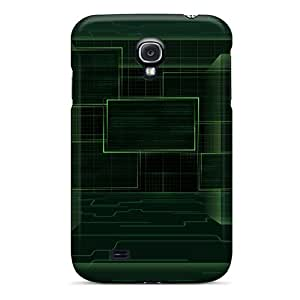 Special Design Back Operating System Abstract Phone Case Cover For Galaxy S4