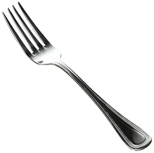 Winco Deluxe Pearl 12-Piece Table Fork Set, 18-8 Stainless Steel ()