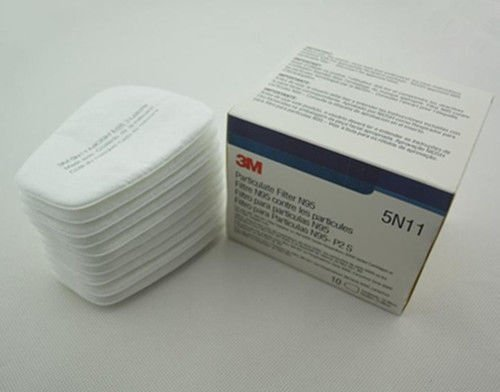 [WALLER PAA] 100pcs=10box 3M 5N11 N95 Particulate Filter for 3M 6200/6800/7502 Respirator by WALLER PAA