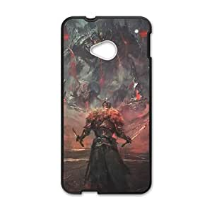 Dark Souls HTC One M7 Cell Phone Case Black Customized Toy pxf005_9683597