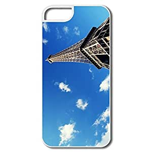 IPhone 5 5S Cover, Eiffel Tower Paris White Cases For IPhone 5S by icecream design