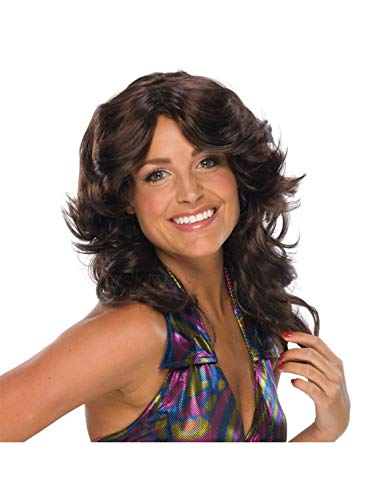 Charlies Angels Halloween Costume (Fashion Wig, Déjà Vu Brown)