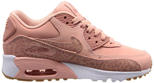 Rust Fille de Se GG 601 Nike Coral LTR 90 Brown Light Gymnastique Stardust Gris White Rose 897987 Pink Chaussures Air Gum Max wqw40Uz