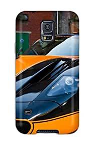 Galaxy S5 Hard Back With Bumper Silicone Gel Tpu Case Cover Maserati Mc12 31 by mcsharks