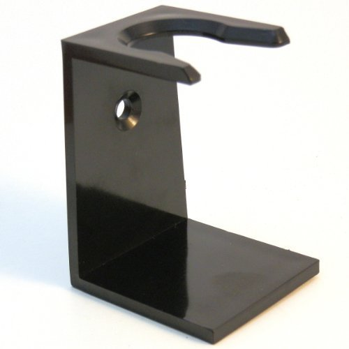 Ebony Shaving Brush Drip Stand by Premier Rasage