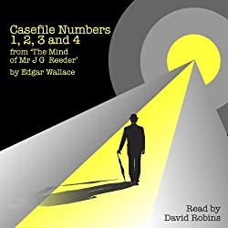 Casefile Numbers 1,2,3, and 4 from 'The Mind of Mr J G Reeder'
