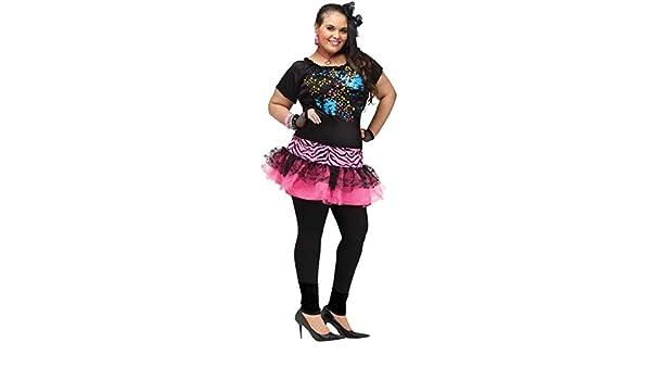80/'s Pop Party Cyndi Lauper Adult Plus Size Costume