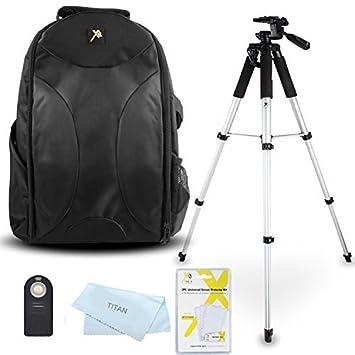 Promax trípode Kit de accesorios para Nikon Df, D3000, D3100 ...