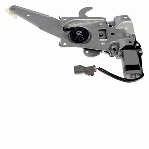 Premier Gear PG-748-297 Regulator (Passenger Side Rear with Power Window Motor) Power Window Motor Gear