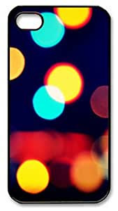 iPhone 4S Case and Cover -Blurred Vision PC case Cover for iPhone 4 and iPhone 4s ¡§CBlack