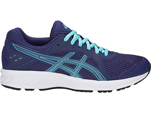 ASICS Women's Jolt 2 Running Shoes, 6.5M, Indigo Blue/ICE Mint