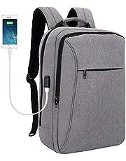 TIGERNU Resistente Anti-furto Zaino, per Laptop da 15,6 Pollici con Porta di Ricarica USB Zaino