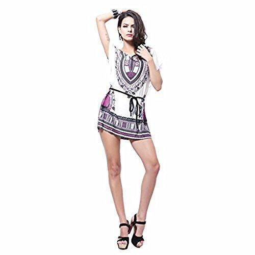 Buy belted blouson dress - 4