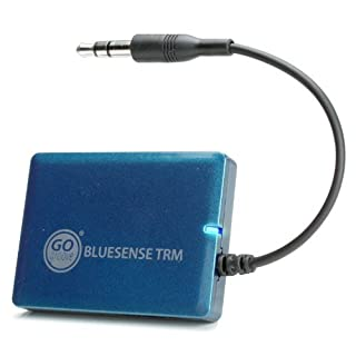 GOgroove BlueSENSE TRM 3.5mm AUX to Bluetooth Transmitter Wireless Adapter - Connect to Headphone Jack on iPod, MP3 Player, Stereo, Laptop to Pair w/ Wireless Bluetooth Headphones & Speakers