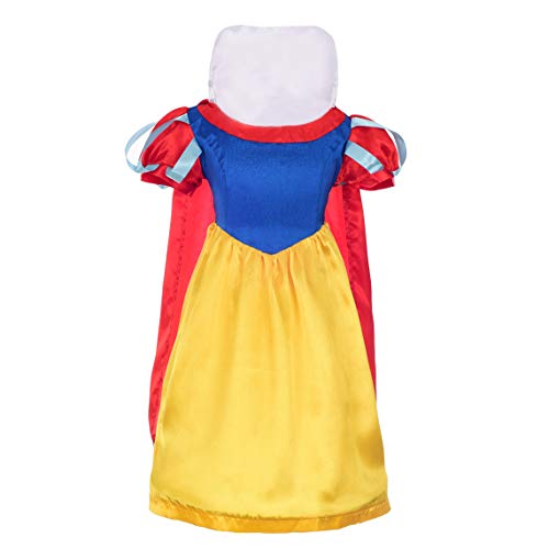 Dressy Daisy Girls' Snow White Princess Cartoon Character Fancy Dress Up Costume Size 4T / 5
