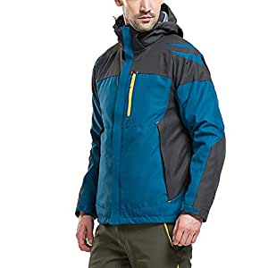 Amazon.com : BeesClover Patchwork Thermal Camping Coat 2