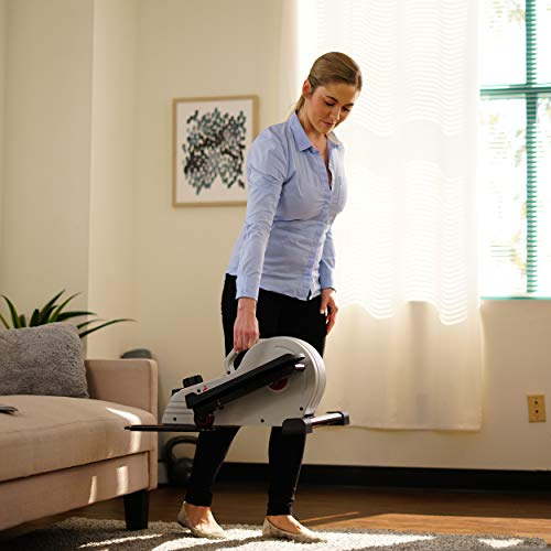 Sunny Health & Fitness Fully Assembled Magnetic Under Desk Elliptical – SF-E3872 by Sunny Health & Fitness (Image #14)