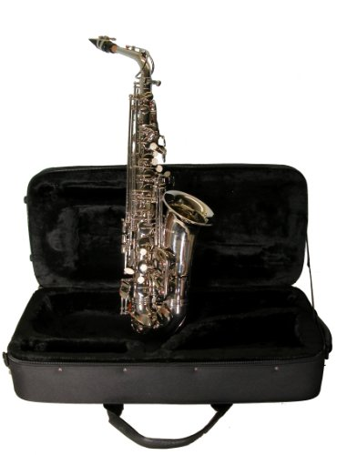 Mirage SX60ANI Nickel Finish Eb Alto Sax with - Mirage Finish