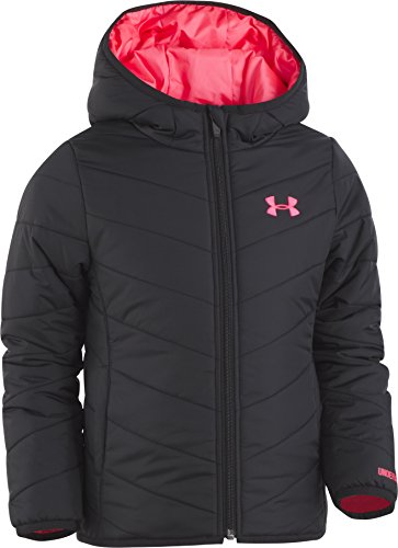 Under Armour Girls' Little Premier Puffer Jacket, Black 6X]()