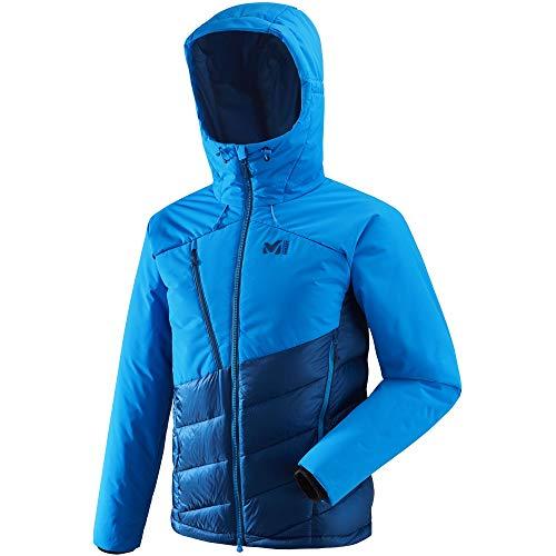 Elevation Jacket Mens poseidon Jacket Down electric Down Mens blue MILLET Dual MIV8005 qdwCxqa