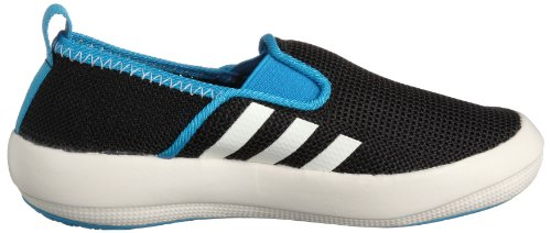 adidas Performance Boat Slip-On - Zapatillas para niños Black / Chalk / Solar Blue S