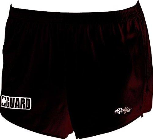 Dolfin Swimwear Female Cover-Up Short W/ Guard Logo - Black, Medium