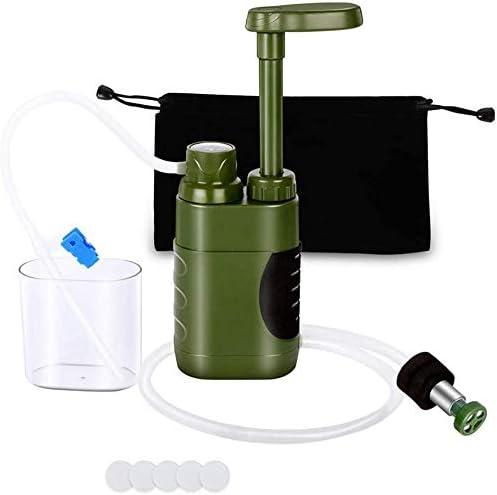 Miwaimao - Purificador de agua personal para camping, filtro de ...