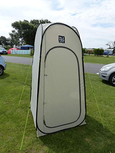 Olpro WC Pop-Up Toilet and Utility Tent - Tan by OLPro