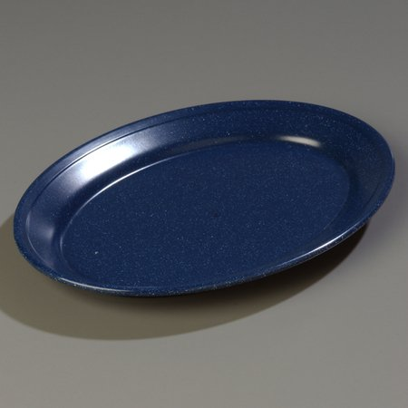 Carlisle 4356035 Dallas Ware Melamine Oval Platter Tray, 12