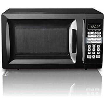 HamiltonBeach 0.7 cu ft Microwave Oven, Black