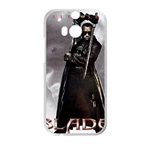Blade HTC One M8 Cell Phone Case White Phone cover O7533488