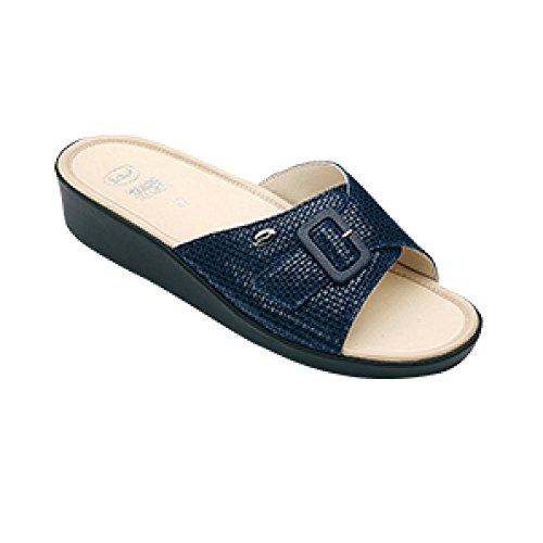 Scholl, colore: blu Navy, Taglia: 40, da donna, con cuscino, colore: mango