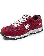 Dunlop DL0201016-42 Zapatos, Rojo, 42