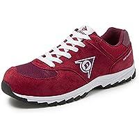 Dunlop DL0201016-43 Zapatos, Rojo, 43