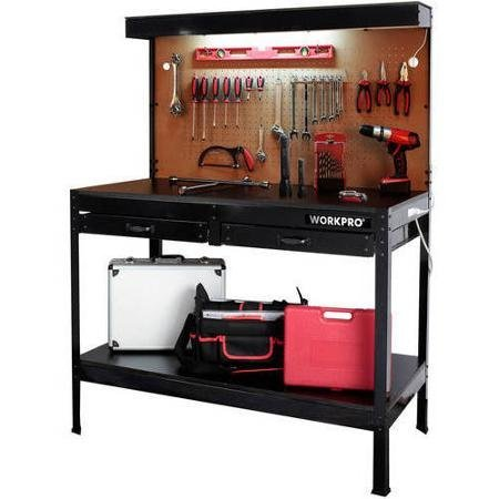 WORKPRO Multi Purpose Workbench with Work Light