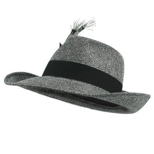 [Big Daddy Martini Hat - Silver] (Martini Costume Halloween)
