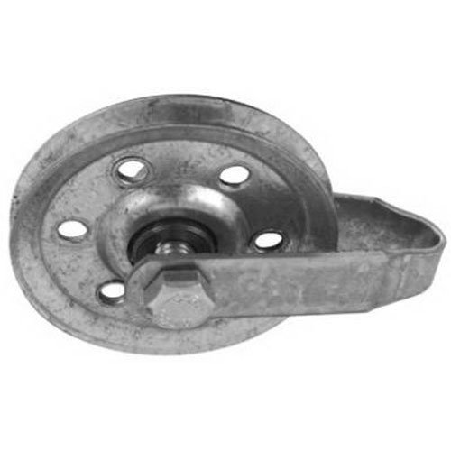 National Hardware V7633 3 Pulleys w/Fork, Axle Bolt and Nut in Galvanized by National