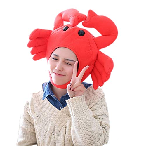 yqtyqs Crab Hat Animal Cap Halloween Easter Party -