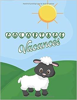 Coloriage Vacances 101 Dessins De La Ferme A Colorier Cahier